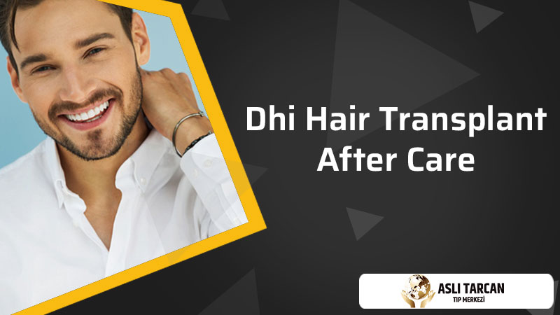 DHI Hair Transplant After Care