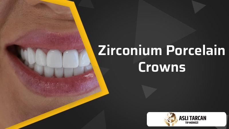 Zirconium Porcelain Crowns